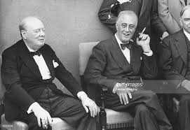 Churchil and FDR